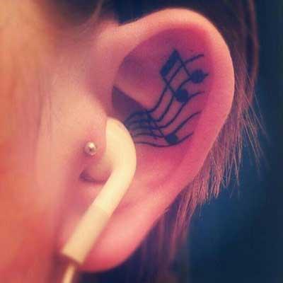 piercing no ouvido