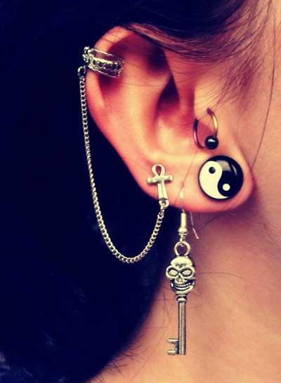 a orelha vai pesar kkk