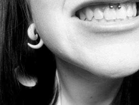 Fotos de piercing facial