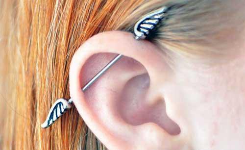 perfurando as orelhas